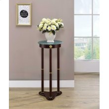 Traditional Merlot Round Plant Stand