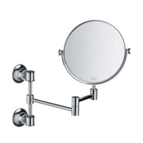 Polished Black Chrome Shaving mirror