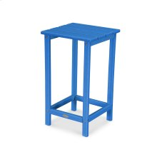 """Pacific Blue Long Island 26"""" Counter Side Table"""