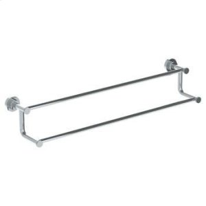 """Wall Mounted Double Towel Bar, 30"""" Product Image"""
