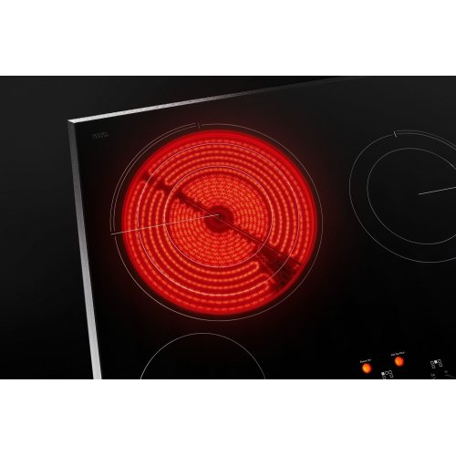 """Oblivian Glass 36"""" Electric Cooktop with Glass-Touch Electronic Controls Black"""
