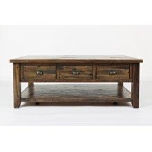 Artisan's Craft Cocktail Table - Dakota Oak