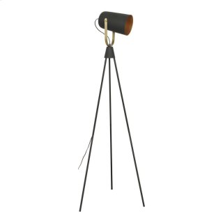 Spotlight Floor Lamp Black