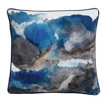 Delta Blue Pillow Cover