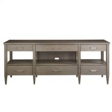 Latitude Media Console - Grey Birch