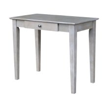 Student Desk in Taupe Gray