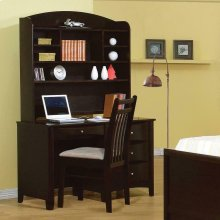 Phoenix Transitional Cappuccino Hutch