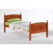 Licorice Bed in Cherry Finish Product Image