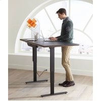 Lift Standing Desk 66 X 30 Top 6052 in Environmental Product Image