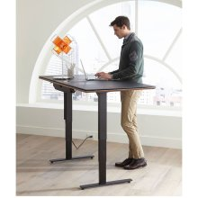 Lift Standing Desk 66 X 30 Top 6052 in Environmental