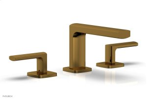 RADI Widespread Faucet - Lever Handles Low Spout 181-05 - French Brass Product Image