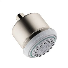 Brushed Nickel Showerhead 3-Jet, 2.5 GPM