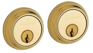 Lifetime Polished Brass Traditional Deadbolt Product Image