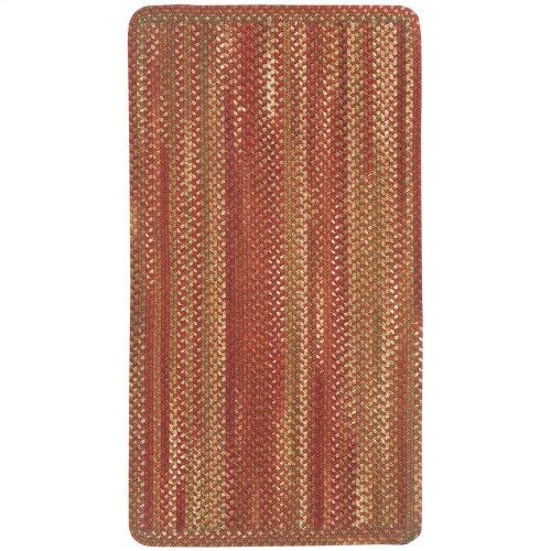 Homecoming Rosewood Red Braided Rugs (Custom)