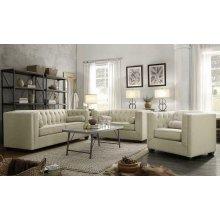 Cairns Transitional Oatmeal Sofa