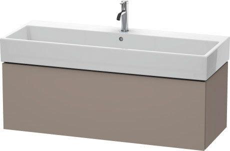 Vanity Unit Wall-mounted, Basalt Matte (decor)