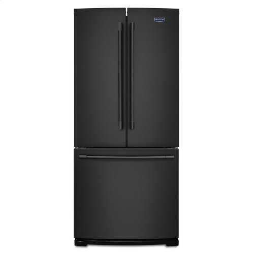 30-Inch Wide French Door Refrigerator - 20 Cu. Ft. Black