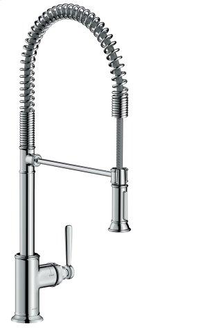 Chrome Single lever kitchen mixer 210 Semi-Pro Product Image