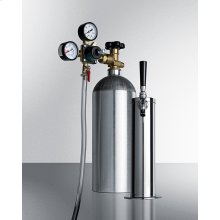 Commercial Tapping Equipment With Co2 Tank To Serve Kombucha From Most Beer Dispensers