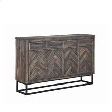 4-Door, 4-Drawer Media Cabinet