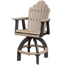 Cozi-Back Swivel Bar Chair