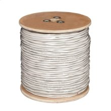 14-Guage, 2-Conductor, Stranded Cable, 500ft Reel (White)
