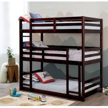 California V Twin/twin/twin Bunk Bed