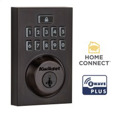 Contemporary SmartCode 914 Deadbolt with Z-Wave Technology - Venetian Bronze