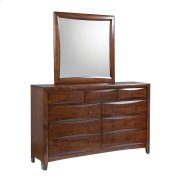 Hillary Warm Brown Nine-drawer Dresser Product Image