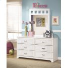 Lulu - White 2 Piece Bedroom Set Product Image