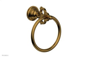 MAISON Towel Ring 164-75 - French Brass Product Image