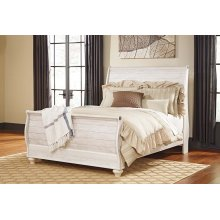 Willowton - Whitewash 3 Piece Bed Set (Queen)