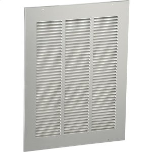 """Elkay Louvered Grill (Stainless Steel) 21"""" x 1/2"""" x 28"""" Product Image"""