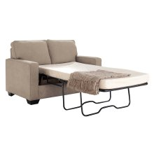 Zeb Twin Sofa Sleeper - Quartz