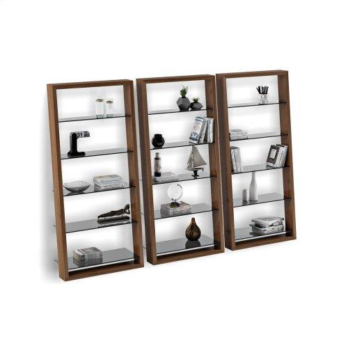Leaning Shelf 5156 in Natural Walnut