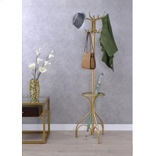 GOLD COAT RACK