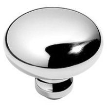 "Antique Brass Unlacquered Profile door knobs pair, 2"" diameter"