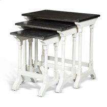 Carriage House 3pc Nesting Table Product Image