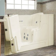 Gelcoat Premium Seriers 30x52 Walk-in Tub with Combo Massage and Outswing Door, Left Drain  American Standard - Linen
