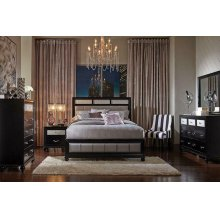 Barzini Transitional Queen Four-piece Bedroom Set
