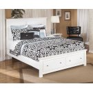 Bostwick Shoals - White 4 Piece Bed Set (Queen) Product Image