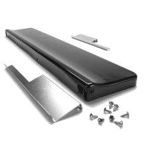 Backsplash for Slide-In Range - Black