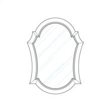 Thoroughbred Diva Portrait Mirror - Toast