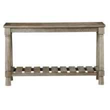 Console/Sofa Table - Weathered Linen Finish