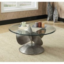 Industrial Grey Coffee Table