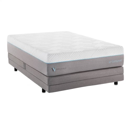 Wellsville 14 Inch Gel Hybrid Mattress Twin