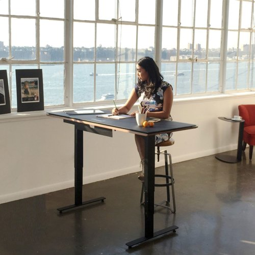 Lift Standing Desk 60 X 24 Top 6051 in Environmental