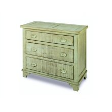 Industrial Chest - Mint Green Finish