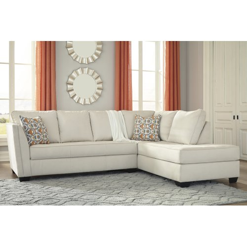 Filone - Ivory 2 Piece Sectional
