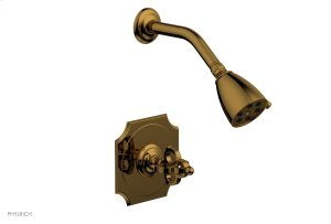 COURONNE Pressure Balance Shower Set 163-21 - French Brass Product Image